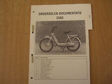Onderdelen Documentatie Teile Ersatzteil Katalog Piaggio CIAO