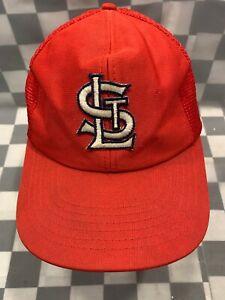 St Louis CARDINALS Mesh Trucker MLB Snapback Adult Baseball Cap Hat