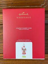 2020 Hallmark CONFECTIONERY KING NOBLE NUTCRACKER Keepsake Ornament NEW