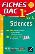Fiches Bac: Sciences 1re Es/L (French Edition)-ExLibrary