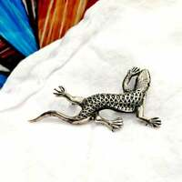 Sweater Pins Lizard in Sliver PRICE REDUCED
