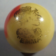 "BB Marbles: Peltier Glass Co. Comic. Emma. 21/32"". Mint 9.5 (B301)"