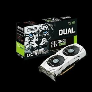 Asus Geforce GTX 1060 6GB GDDR5 OC White Dual