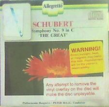 Schubert Symphony No. 9 in C great (1988 Allegretto) CD - VERY GOOD CONDITION!