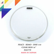 """PEACE DHE-110 16"""" Clear Drum Head"""