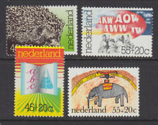 Netherlands 1976 Cultural Health set MNH