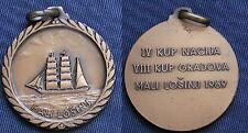 MEDAGLIA ISOLA LUSSINO MALI LOŠINJ CUP NACIJA CUP GRADOVA REGATA VELA 1969 SAIL