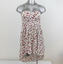Women's Floral Dress By Feather Size Small 100% Rayon