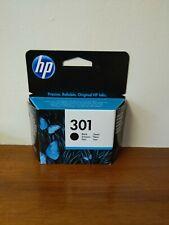 Genuine HP 301  BLACK ink cartridge