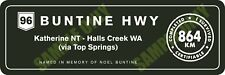 Buntine Highway Bumper Sticker