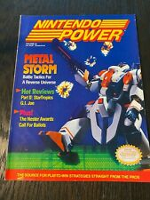 Nintendo Power Volume 22, March 1991, Metal Storm[Includes Poster]