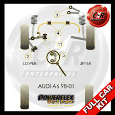 Audi A6 (98-01) Powerflex Black Complete Bush Kit