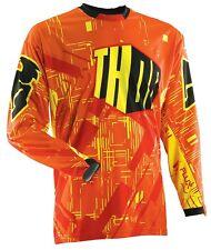 Thor Flux Block Jersey Yellow Medium NEW 2014