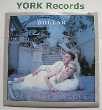 "DOLLAR - We Walked In Love - Excellent Condition 7"" Single Arista DIME 1"