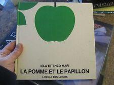 1970 - La Pomme Et Le Papillon - wordless book caterpillar to butterfly - L