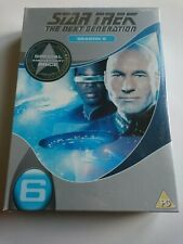 Star Trek - The Next Generation - Series 6 -Complete (DVD, 2006)