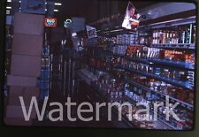 1980s 35mm photo slide Grocery store interior #3