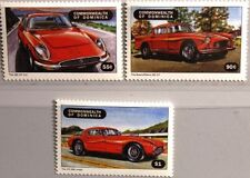 DOMINICA 1998 2558-60 100th Bday Enzo Ferrari Race Cars Rennautos Autos MNH
