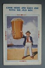 R&L Postcard: HB 4084 Come Here and Have One With Me, Pint of Beer Ale