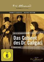 DAS CABINET DES DR CALIGARI Langfassung ROBERT WIENE 1920 DELUXE EDITION DVD Neu