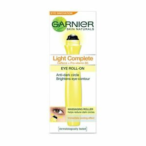 Garnier Skin Naturals White Complete Eye Roll-On, 15ml Free Ship