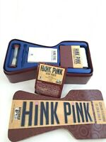 Original HINK PINK FAST RIDDLES+RHYMES CARD GAME BY DISCOVERY BAY GAMES