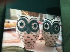 Owl Salt And Pepper Shakers 3�