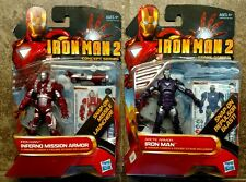 Two Marvel Iron Man 2 Not For Resale 2009 Comic Series Toy Figures  Fast Ship