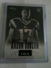 2013 Panini Prizm HRX #7 Patriots WR Aaron Dobson, Marshall