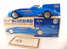 Schylling Sir Ian's bluebird record car tin toy neuf en boite 28 cm mint in box
