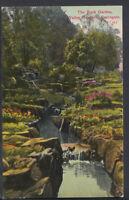 Yorkshire Postcard - The Rock Garden, Valley Gardens, Harrogate   RS5987