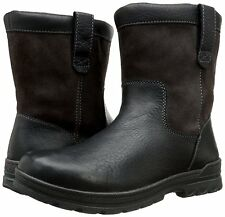 Clarks Men's Ryerson Peak Boot Black Leather SZ US 11 MSRP 180$