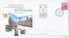 HONG KONG, 1997 AUSTRALIA STAMP EXPO $ 3.10 Commemorative Illustrated cover.