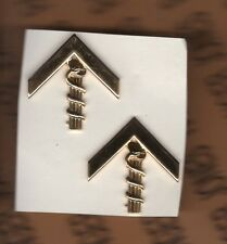 Dominican Republic Dom-Rep Military medical rank badge set