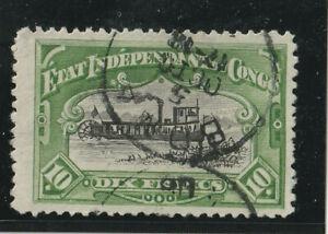Belgisch Kongo - Unabhängiger Staat - 1892 - MiNrn 25 C - sauber gest.