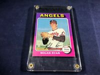 M3-25 BASEBALL CARD - NOLAN RYAN CALIFORNIA ANGELS - CARD #500 - 1975 TOPPS