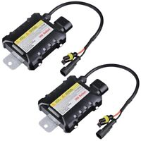 2x HID Ballast Replacement 12V 35W Universal for Xenon Light H1 H3 H7 H8 9005