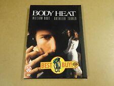 DVD / BODY HEAT ( WILLIAM HURT, KATHLEEN TURNER )