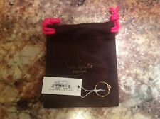Sug Retail $48 NWT dust Bag Kate Spade Sailors Knot Ring gold Size 5,