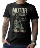 BIKER T-Shirt - MOTOR SPEEDWAY - Motorrad Schrauber Cafe Racer Oldschool S-5XL