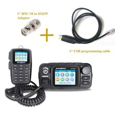 4G network radio M-9900 Real-ptt and analog Dual Band Cross Band Mobile Radio