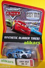 O - EASY IDLE aka Ruby Oaks - Piston Cup Disney Cars modellino diecast Racer 51