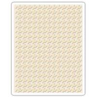 Sizzix Tim Holtz Alterations Texture Fades Embossing Folder Pinwheel 661202