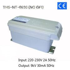 9KV30mA270W European CE Neon Iron Core Coil Transformer Tesla Test Power NO GFI