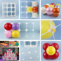 1PC Balloon Square 9 Grid 4 Grid Modeling Party Balloons Grids Wall decor PI~OT