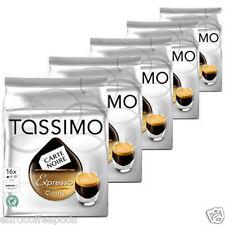 Tassimo Carte Noire Café Expresso - 5 Packs (80 T Disc/Raciones) Espresso