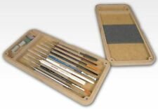 Hobbyzone Paint Brush Box -Magnetic Holder for Your Brushes for Travel or Studio