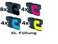 20 kompatible Druckerpatronen für Brother LC970 / LC1000 MFC 260C 235C DCP 135C