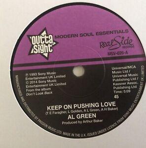 Keep On Pushing Love - Al Green