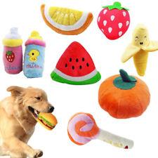Домашнее животное собака кошка игрушка забавный щенок жевать пищалка скрипучий плюшевые плоды воспроизведение звука игрушки
